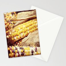 Colorful Corn I Stationery Cards