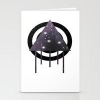 Dripping Space Stationery Cards