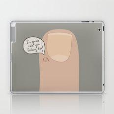 Hang Nail Laptop & iPad Skin