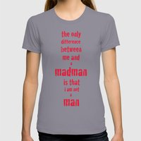 Madman Womens Fitted Tee Slate SMALL