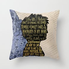 Harry - Character Design Throw Pillow