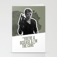 Badass 80's Action Movie Quotes - Cobra Stationery Cards