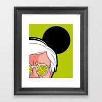Pop Icon - Warhol By Har… Framed Art Print