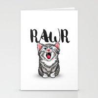 Little Pal, Big Roar Stationery Cards