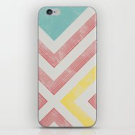 iPhone & iPod Skin featuring STRPS by Metron