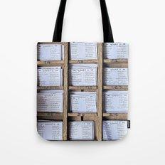 Prayer Cards  Tote Bag