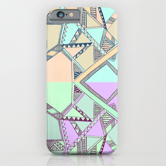 Aztec print illustration iPhone & iPod Case