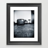 BLANK Framed Art Print