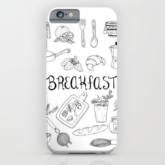 Breakfast iPhone & iPod Case