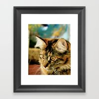To Be Beautiful Framed Art Print