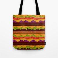 Infinite Burger Tote Bag