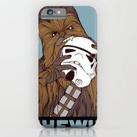 iPhone Cases featuring Chewie by hatrobot