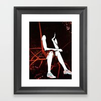 Crustacean Dreams Framed Art Print