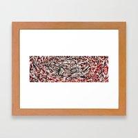 Koi Whirlpool Framed Art Print