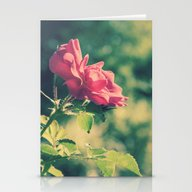A Pink Rose For You Stationery Cards