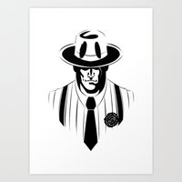 The Gangster Way Art Print