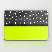 Black White Polka Dots B… Laptop & iPad Skin