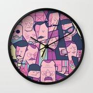 Grand Budapest Hotel Wall Clock