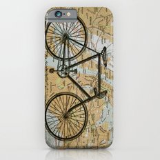 Bike Ride in New York City iPhone 6 Slim Case