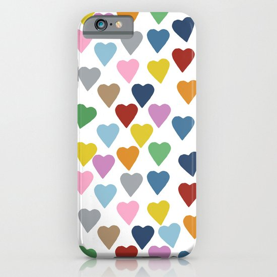 Hearts #3 iPhone & iPod Case