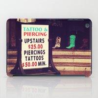 Tattoo & Piercing iPad Case