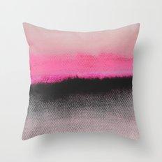 Double Horizon Throw Pillow