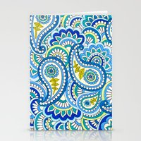 Paisley Puzzle Stationery Cards