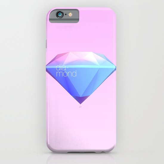 Crystallographic defects in diamond iPhone & iPod Case