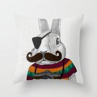 Wabbit Throw Pillow