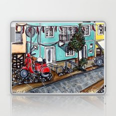 Vespa Street Laptop & iPad Skin