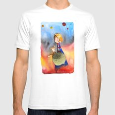 Little Prince Mens Fitted Tee White SMALL