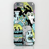 iPhone & iPod Case featuring Magic Friends by Frenemy