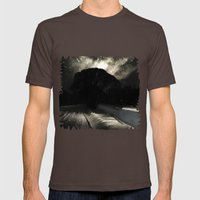 Sun of Nav' Mens Fitted Tee Brown SMALL