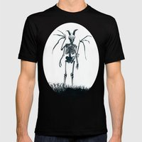 The Jersey Devil Is My Friend Mens Fitted Tee Black SMALL