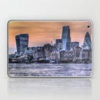 The Three Buildings Lond… Laptop & iPad Skin
