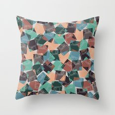 FLOPPY Throw Pillow