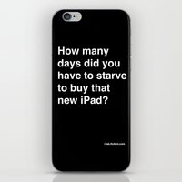 How Many Days Did You St… iPhone & iPod Skin