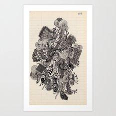 Untitled Vomit Art Print