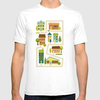 Neighborhood Mens Fitted Tee White SMALL