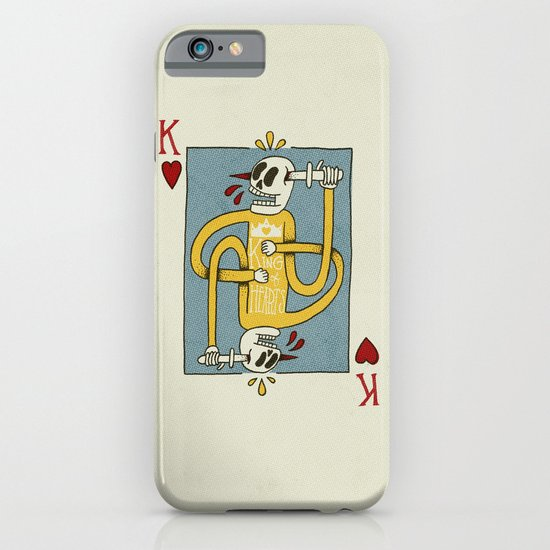 King of Hearts iPhone & iPod Case