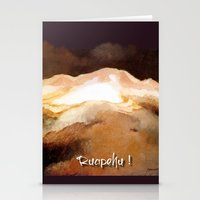 Ruapehu Sunset Stationery Cards