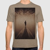 The Sky is getting closer Mens Fitted Tee Tri-Coffee SMALL