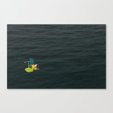 Hiatus Canvas Print