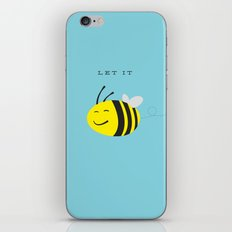 Let it bee. iPhone & iPod Skin