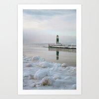 Winter In Holland, Michi… Art Print