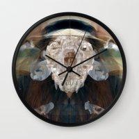 Birth//Death//Rebirth Wall Clock
