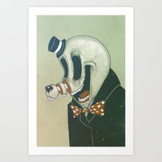 Cut Nose Art Print
