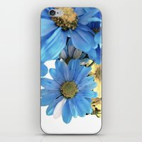 Faded Flowers iPhone & iPod Skin