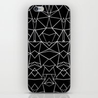 Ab Mirror Black iPhone & iPod Skin