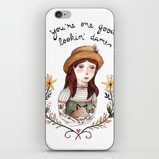 Good Lookin' Dame iPhone & iPod Skin